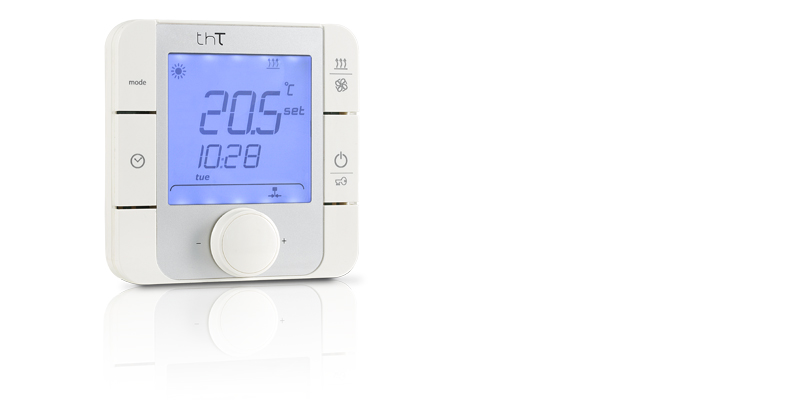 thT, a CAREL thermostat for temperature and humidity in control domestic or commercial environments